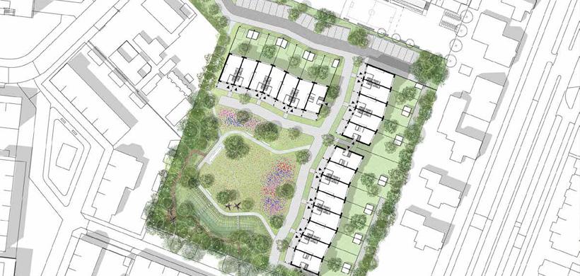 Van Lieflandpark. Beeld Heren 5 Architecten