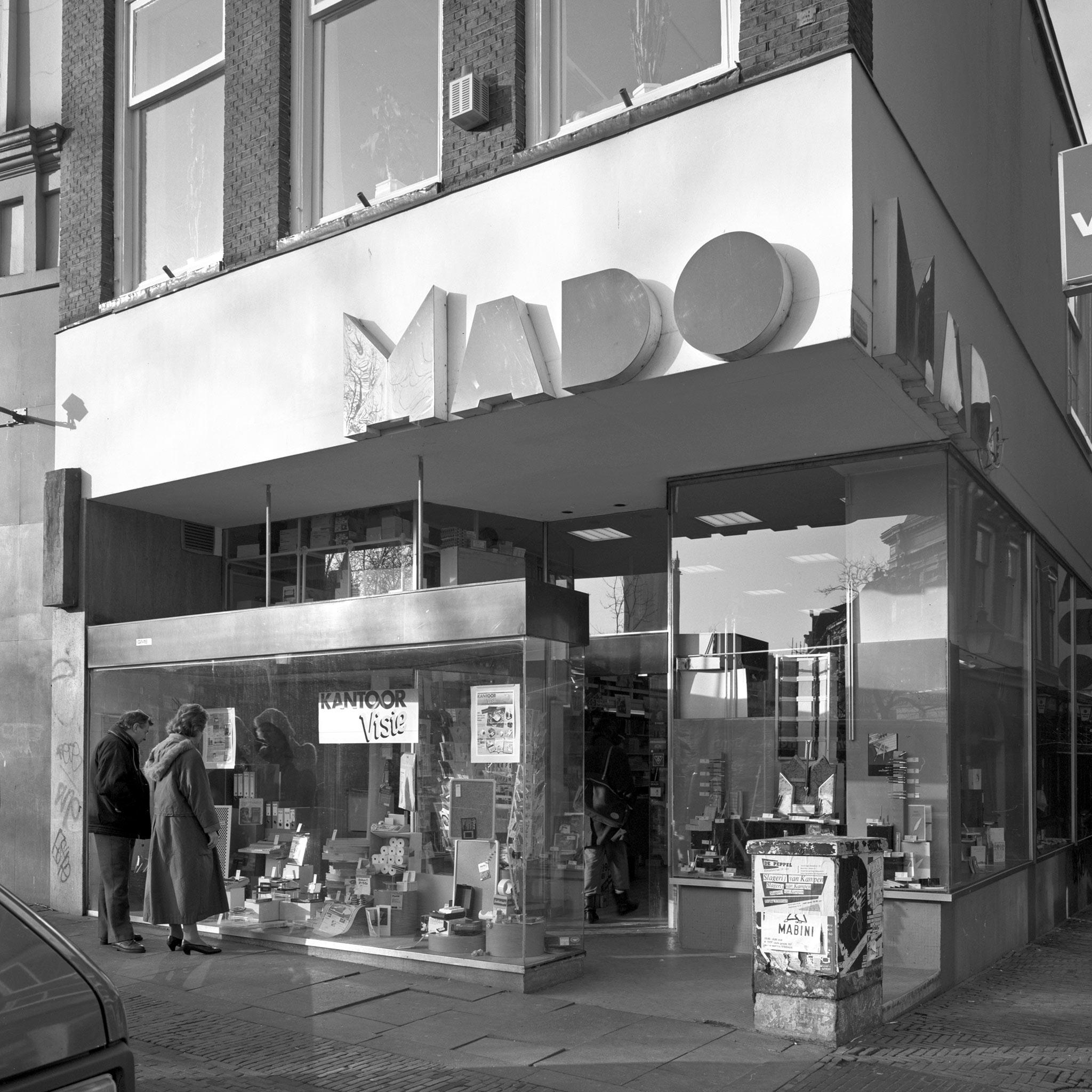 Etalage Mado in 1990. Foto: Het Utrechts Archief