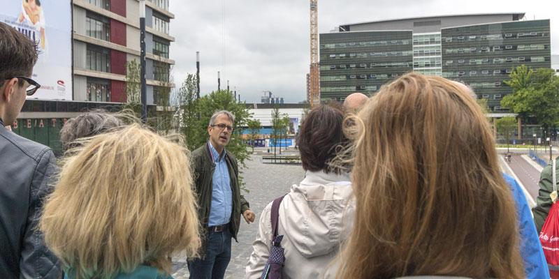 Tours vanuit het Infocentrum Stationsgebied