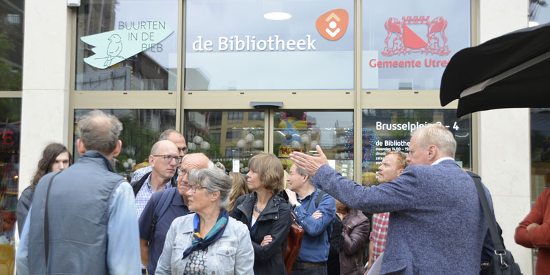Bibliotheek Leidsche Rijn Centrum, foto Marie Verhoef